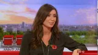 Christine Bleakley Interview BBC Breakfast 2013
