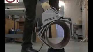 Резка труб из стали труборезом EXACT-360(ООО