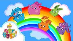SUNNY BUNNIES - Crafty Rainbow | GET BUSY COMPILATION | BRAND NEW EPISODE | Cartoons for Children