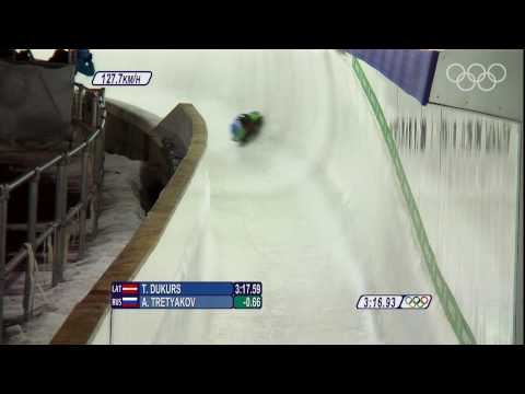 A. Tretyakov - Mens Skeleton - Vancouver 2010 Winter Olympic Games