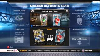 Madden 13 Ultimate Team Update: Road to 10 Million!