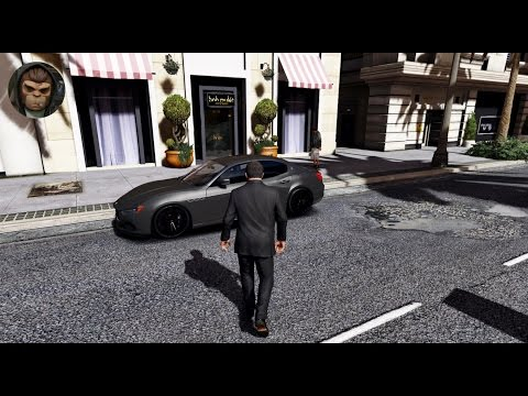 ► GTA 6 Graphics ✪ REDUX Maserati Ghibli S! Ultra Realistic Graphics MOD PC 1080p60 FPS