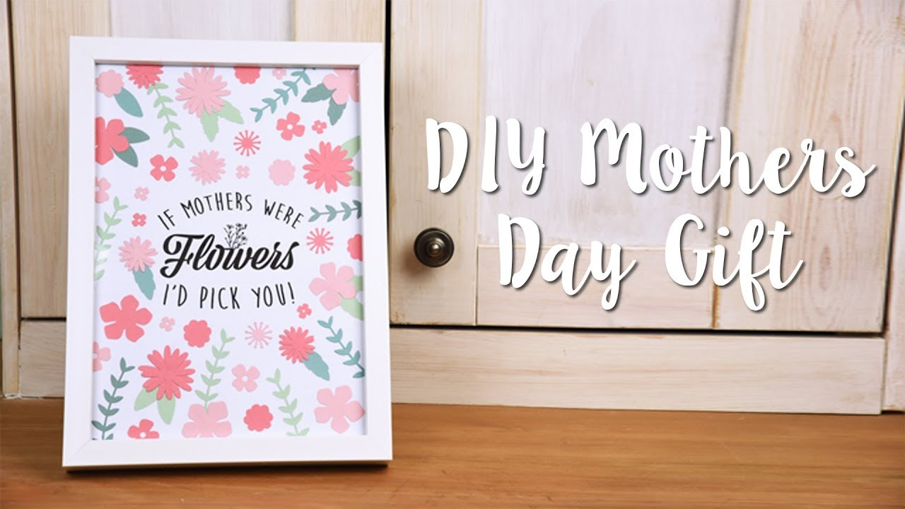 How to make a diy mother 39 s day gift youtube for What to make for mother s day gift ideas