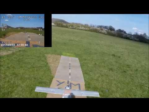 cargo twin acrobatics and the buzzard/acrobaties  cargo twin et petite visite de la buse