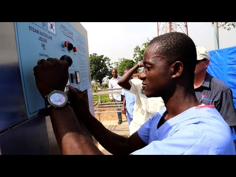 UNDP Delivers Autoclaves to Sierra Leone