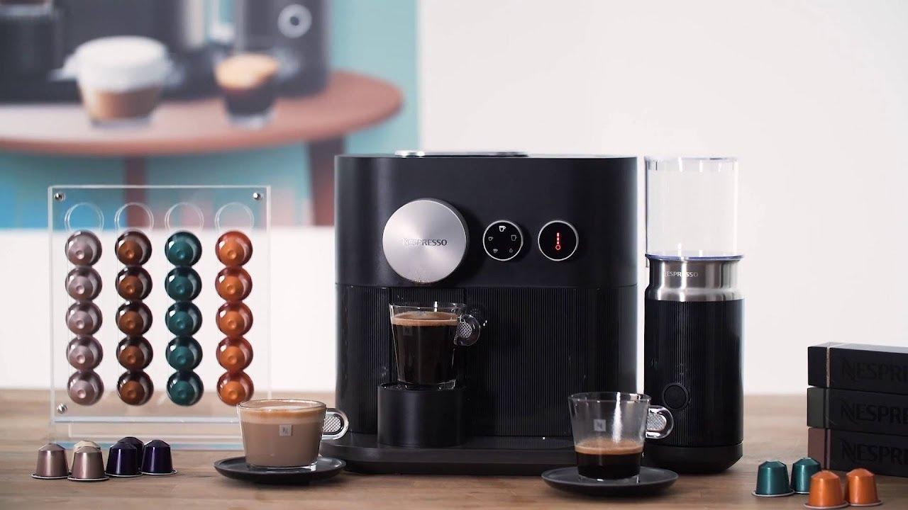 nespresso c85 eu bk ne expert milk kaffemaskine youtube. Black Bedroom Furniture Sets. Home Design Ideas