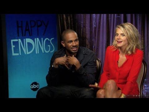 Happy Endings  S3  Damon Wayans and Eliza Coupe  Sh...pooping?
