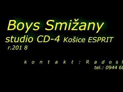 Gipsy boys Smizany studio CD 4 ESPRIT Košice r 2018