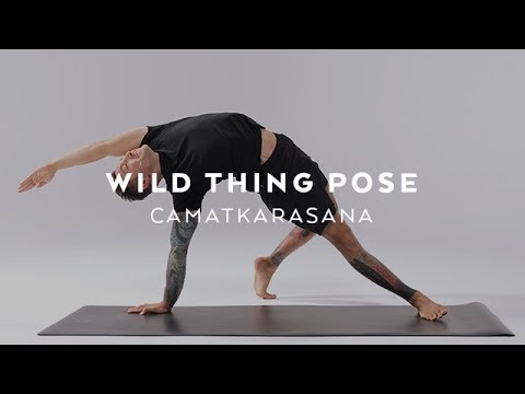 How to do Wild Thing Pose | Camatkarasana Tutorial with Dylan Werner