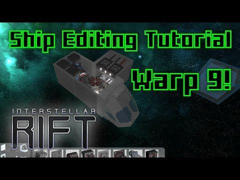 Smallest Ship Ever! - Interstellar Rift Editor Tutorial