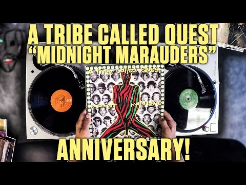 """A Tribe Called Quest 'Midnight Marauders"""" Anniversary"""