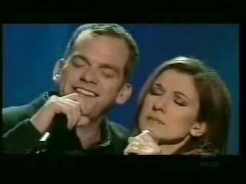 Celine Dion and Garou