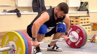 Как тренироваться перед рекордами? Тяжелая атлетика