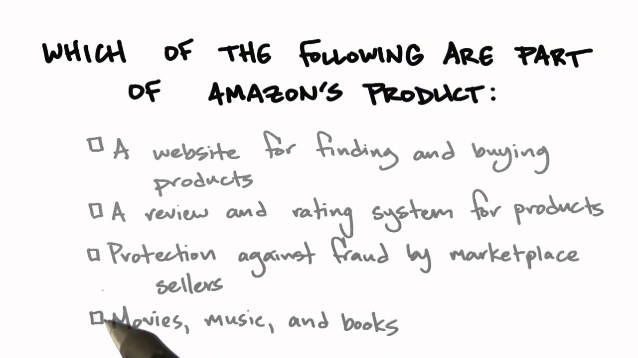 Amazons Product - How to Build a Startup