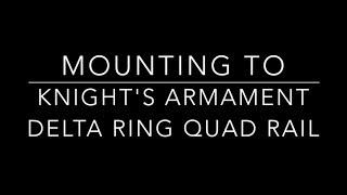 Heathen Assaulter Bipod - Knights Delta Ring Quad Rail Mounting