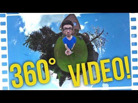 360 GRAD ERKLÄRBÄR?! - Meine 360° Videopremiere! (Experiment!)