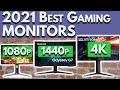 Best Gaming Monitor 2021   Buying Guide for 1080p, 1440p, 4K   PC PS5 XBox