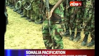 551 Somali National Army Trainees Pass Out At Bihanga