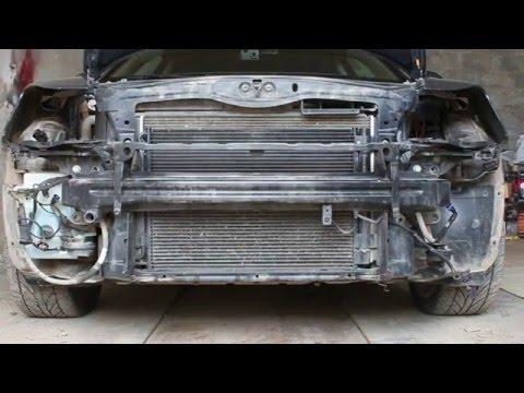 Как разобрать и почистить радиаторы на Skoda Octavia A5 FL