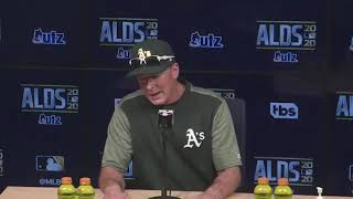 Manager Bob Melvin on Oakland A's postseason run ending at the hands of the Houston Astros