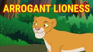 Arrogant Lioness | Panchatantra Moral Story | English Cartoon For Children | Maha Cartoon TV English