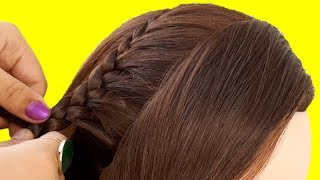 Easy Hairstyle For Short Hair | Best Hairstyle For Girls | Latest 2019 Hairstyles