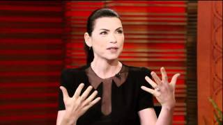 hd julianna margulies interview on live with regis kelly 09 20 2011 part 1