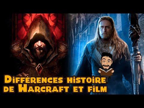 Différences entre l'histoire de Warcraft et le film Warcraft