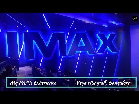 IMAX | vega city mall review | Bangalore vlogs | vlog1