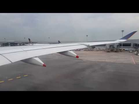 [Pushback Engine Start] SINGAPORE AIRLINES AIRBUS A350-900 at SIN