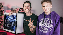 BUILDING HIS DREAM PC - ROG Rig Reboot