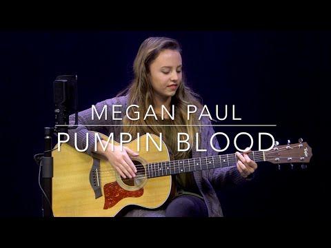 NONONO  Pumpin Blood Cover by Megan Paul