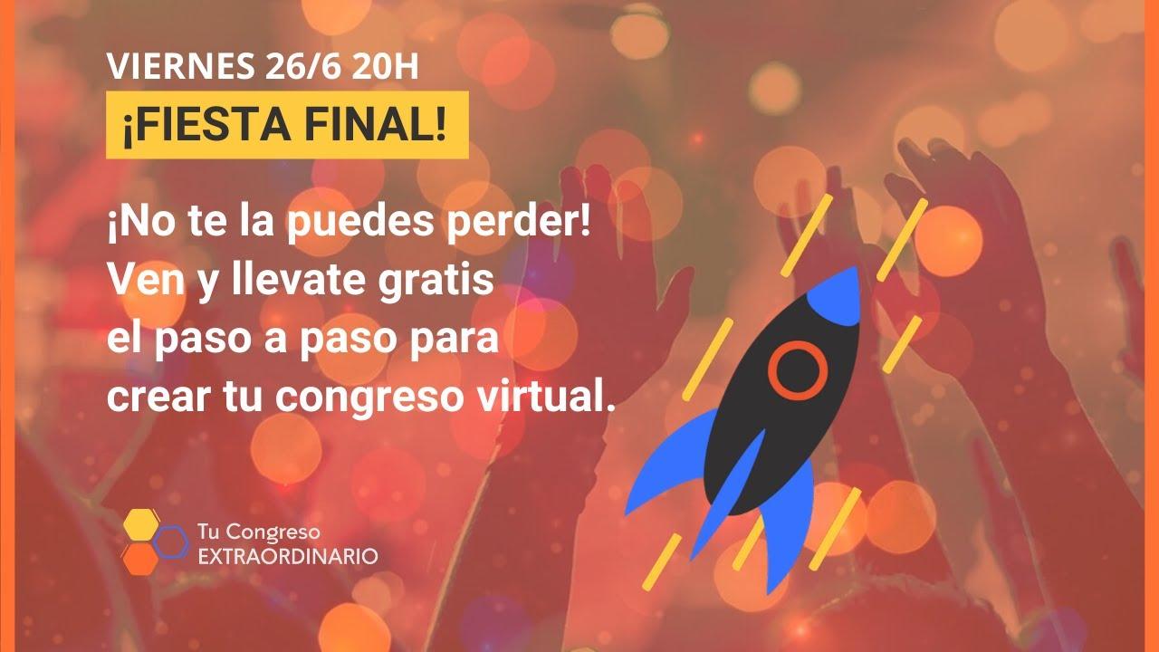 Webinar Fiesta final - VIERNES 26/6 20H