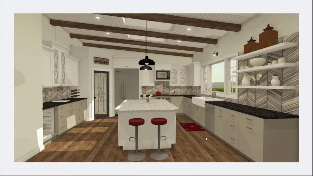Home Designer 2019 Kitchen Design - YouTube