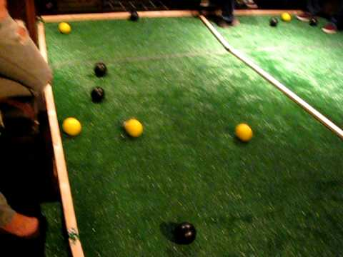 How to Play Bocce Ball Indoors - YouTube