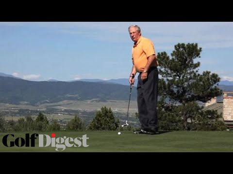 Putting Guru Dave Stockton on How To Sink Putts | Putting Tips | Golf Digest