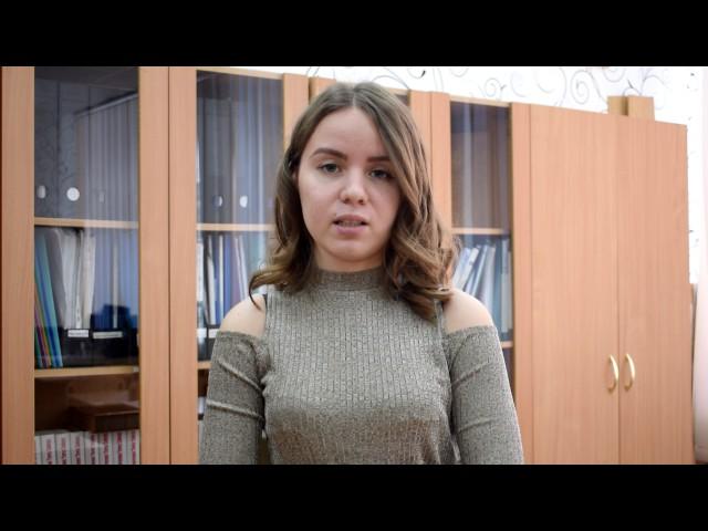 Изображение предпросмотра прочтения – АлияНургалеева читает отрывок изпроизведения «Неоконченное» В.В.Маяковского