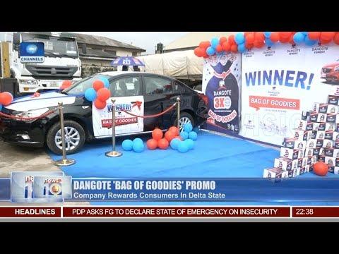 Dangote Rewards Consumers In Delta State