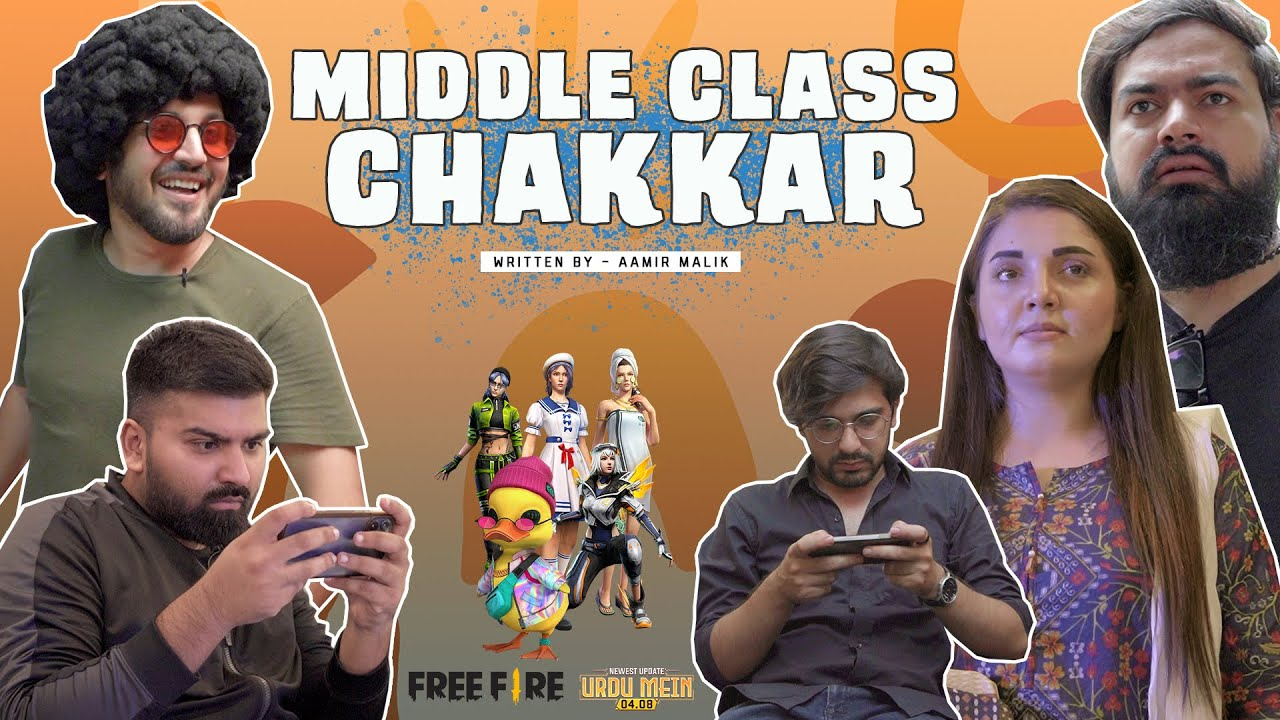 MIDDLE CLASS CHAKKAR | Comedy Skit | Karachi Vynz Official