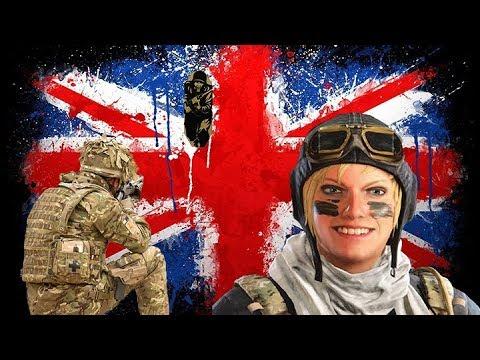 British soldier plays Rainbow Six Siege