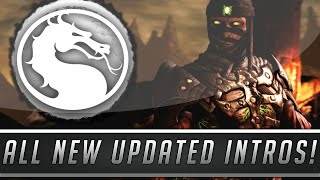 Mortal Kombat X: All New & Unique Intro Dialogue Added w/ XL Edition Update! (Mortal Kombat XL)