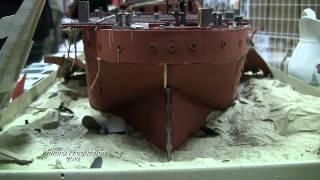 La maquette du RMS TITANIC à Givenchy en Gohelle les 17 et 18/11/2012