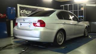 * Reprogrammation Moteur * BMW 320i 150cv @ 170cv Dyno Digiservices Paris