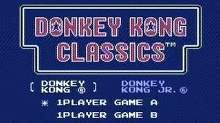 CGR Undertow - DONKEY KONG CLASSICS review for NES