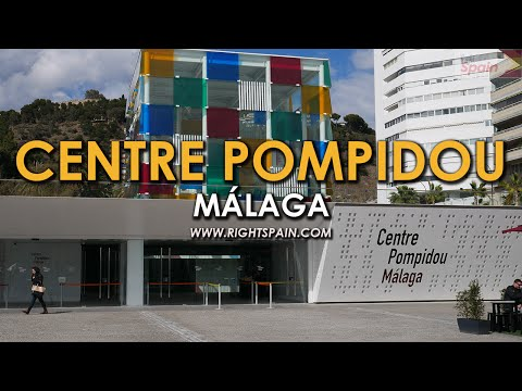 Centre Pompidou, Málaga Spain 2016.