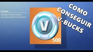 FORTNITE - How to get V-bucks