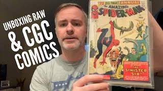 Comics Unboxed! Spider-Man & Marvel movie spec + CGC + ECCC Sketch!