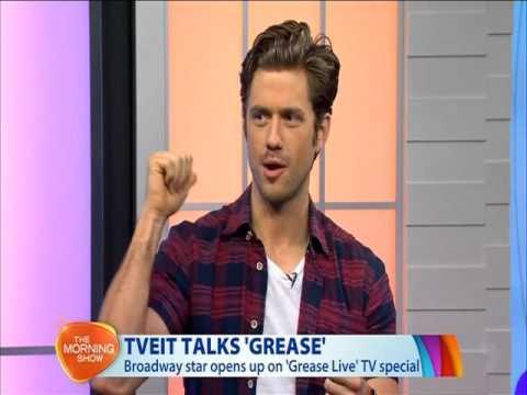 Aaron Tveit On Channel 7 Morning Show - Australia