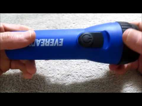 Low cost Eveready LED flashlight review