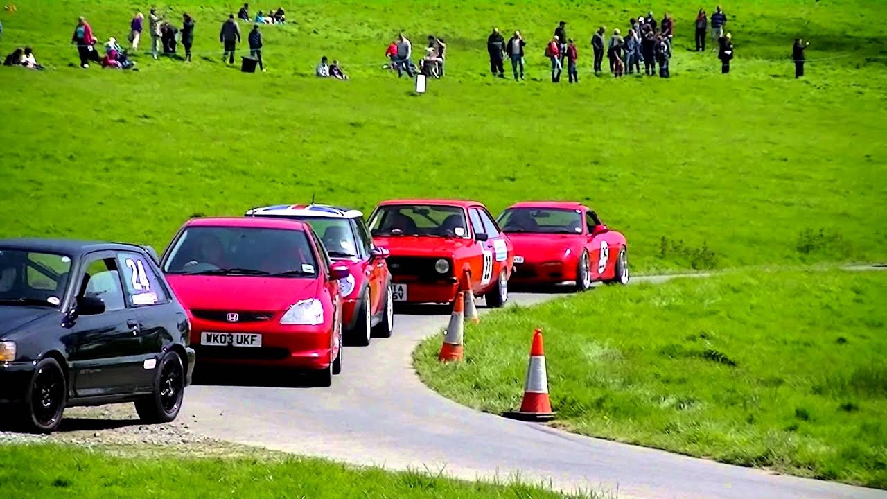 Mazda RX7 Hillclimb At Werrington 04 05 2014
